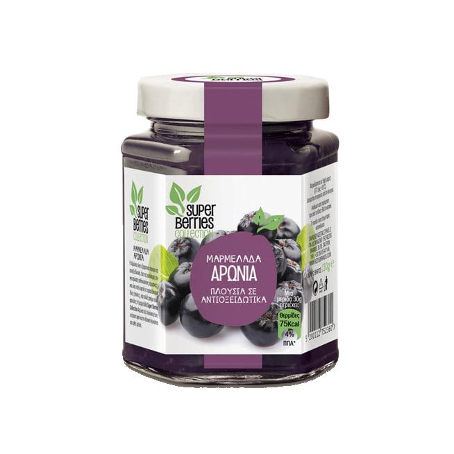 Super Berries Collection μαρμελάδα αρώνια 230γρ