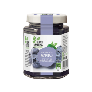 Super Berries Collection μαρμελάδα μύρτιλο 230γρ