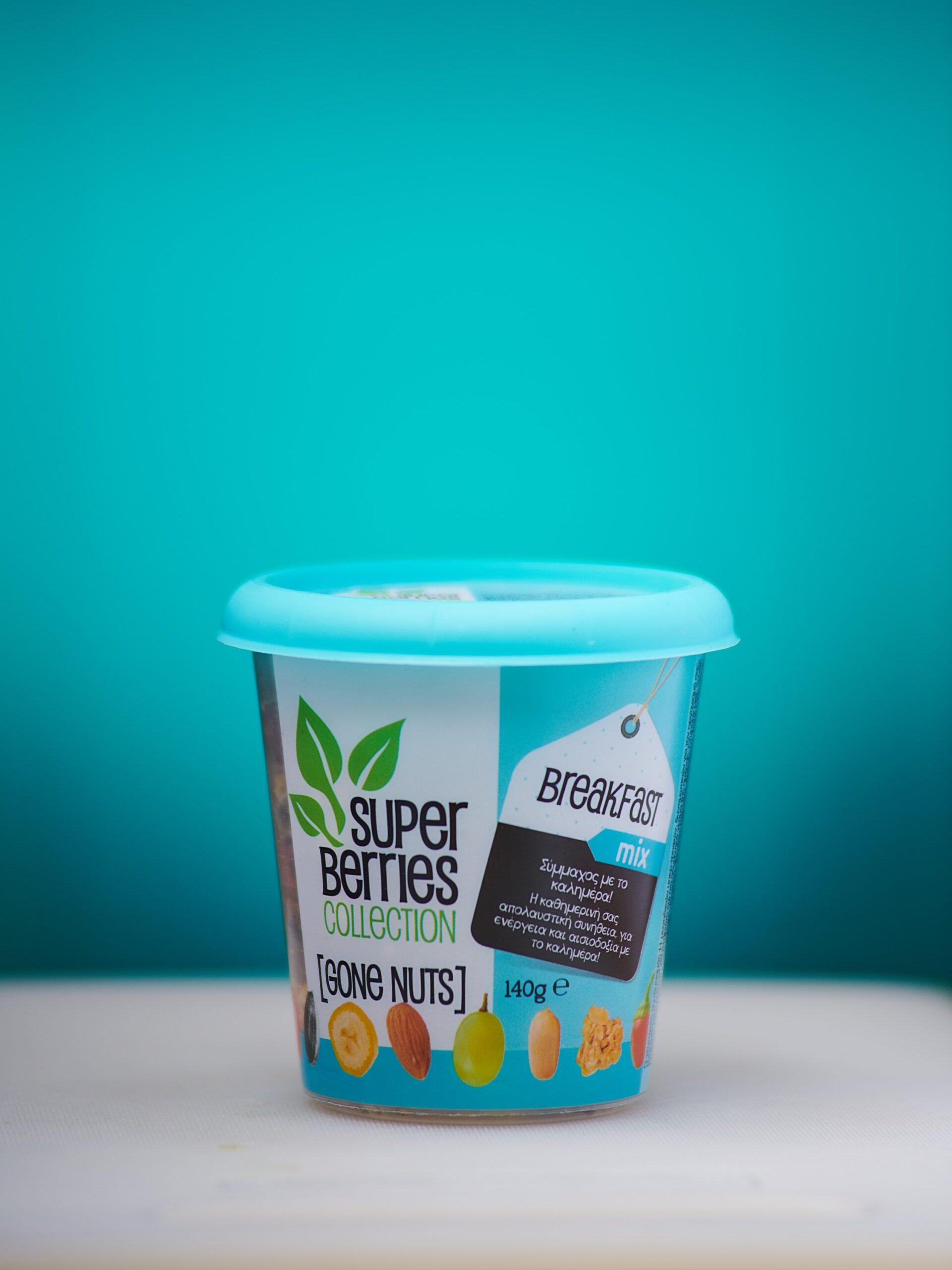 Υπερτροφές Super Berries Collection Gone Nuts Breakfast Mix